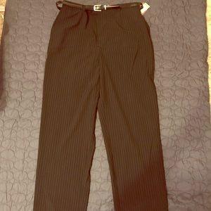 NWT Size 14 short Black straight leg dress pants